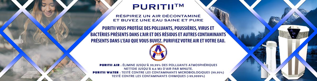 Purificateurs Air et Eau PURITII