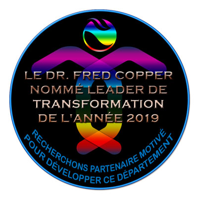 Fred Copper CEO World Awards 2019